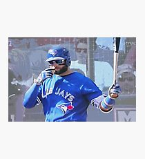 Kevin Pillar  Toronto Blue Jay Photographic Print