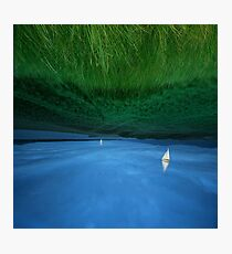 STILL SAILING MEADOWNESS Photographic Print