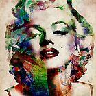 Marilyn Monroe Urban Art by Michael Tompsett