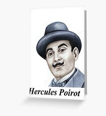 Hercules Poirot : Pointing the finger of blame 659 views Greeting Card