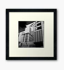Sydney - Streetscape Framed Print