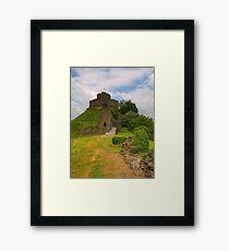 Launceston Castle Framed Print