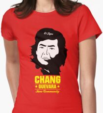 Chang Guevara Womens Fitted T-Shirt