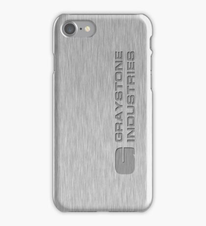 Graystone Industries iPhone Case/Skin