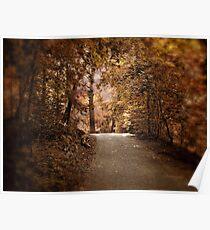 Autumn Aura Poster