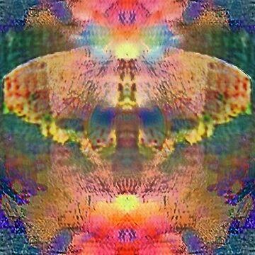 Butterfly in Flowers by kristinsharpe