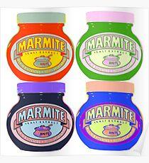Marmite pop art Poster