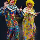 A Couple of Clowns - Ficifolia Festival, Drouin by Bev Pascoe