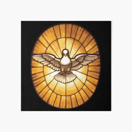 Holy Spirit Dove from St. Peter's Basilica Art Board Print