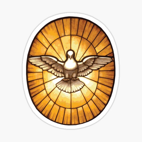 Holy Spirit Dove from St. Peter's Basilica Sticker
