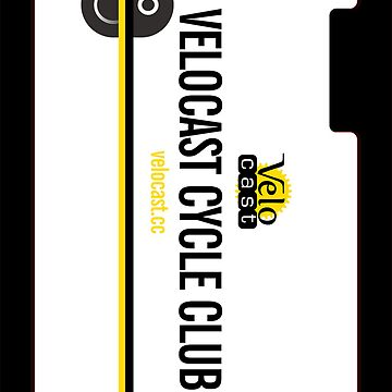 Velocast Cycle Club iPhone Case by Velocast