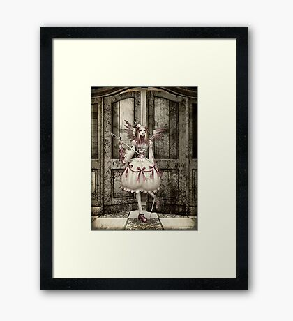 Broken Hearted... Framed Print