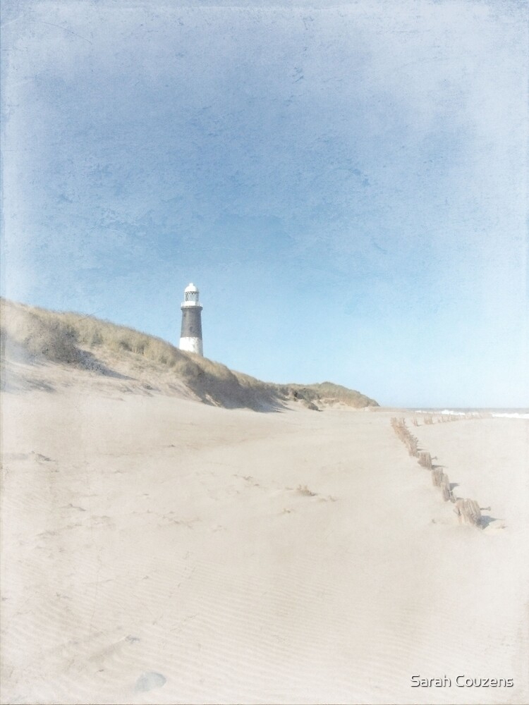 Spurn Point Lighthouse   Texture by Sarah Couzens