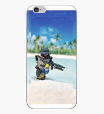 MNU diving suit simple iPhone Case