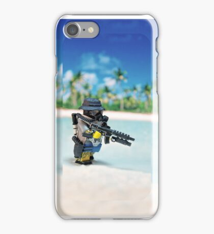 MNU diving suit simple iPhone Case/Skin