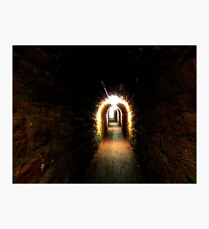 Smugglers Tunnel At Sheldon, Nr Teingmouth Photographic Print