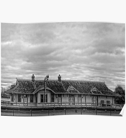 The Old St. Charles Missouri Depot Poster