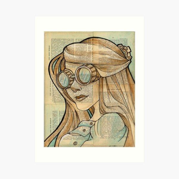 The Iron Woman 1 Art Print