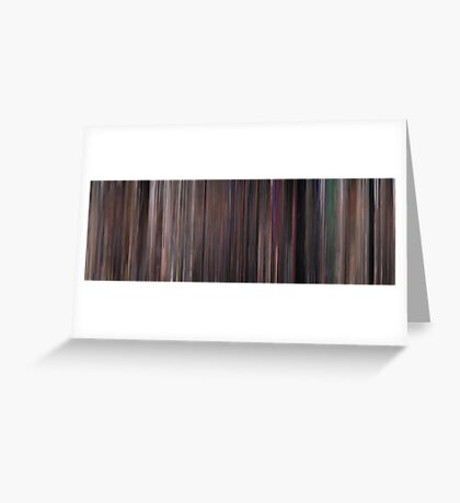 Moviebarcode: Ocean's Eleven (1960) Greeting Card