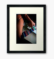 Knee High Love Framed Print