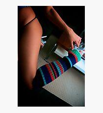Knee High Love Photographic Print