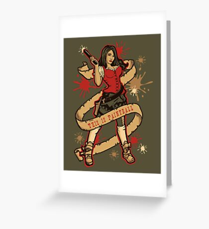 Annie Get Your Gun Greeting Card