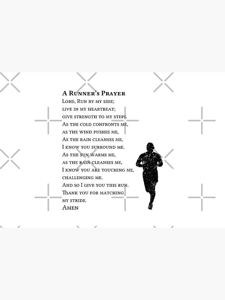 A Runners Prayer by Beltschazar