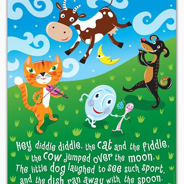 Hey Diddle Diddle - nursery rhymes by Lyuda