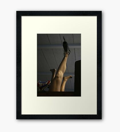 Oh this is pants! Framed Print