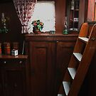 Interior of a peat barge by patjila