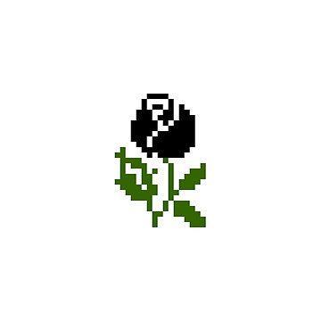 Li'l Roses: Black by MelancholyChild