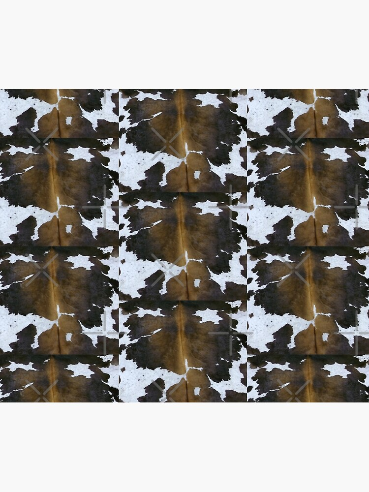 Cowhide  Patchwork Tan and White | Texture  by koovox