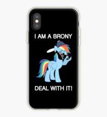 Rainbow Dash Brony iPhone-Hülle & Cover