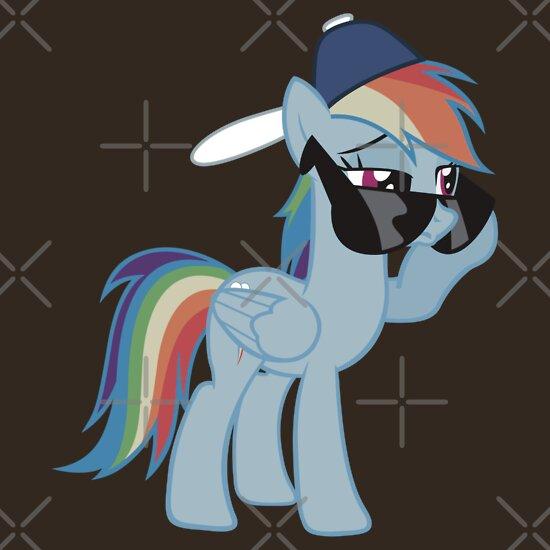 TShirtGifter presents: Rainbow Dash Style no text