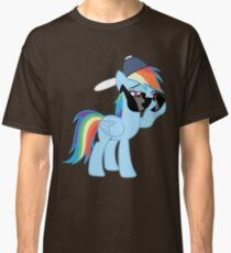 Rainbow Dash Style no text Classic T-Shirt