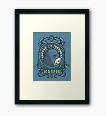Forest Spirit Nouveau Framed Print