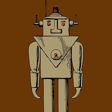 Vintage Robot by Chillee Wilson by ChilleeWilson