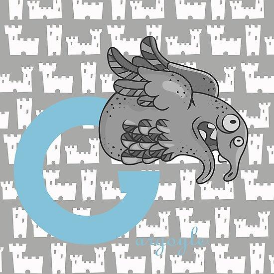 g for gargoyle by alapapaju