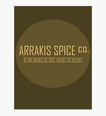 Dune Arrakis Spice Co. Photographic Print