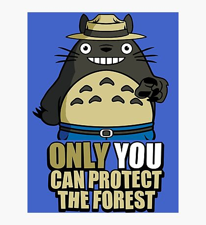 Protect The Forest Photographic Print