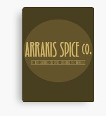 Dune - Arrakis Spice co. (version 2) Canvas Print