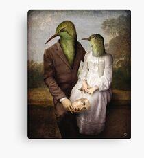 The Hummingbirds Canvas Print