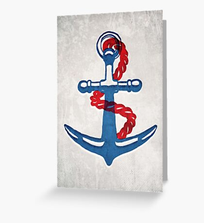 So why were you so anchorless?  Greeting Card