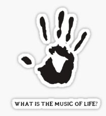 Dark Brotherhood: What is the music of life? Sticker