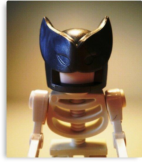 Egyptian God Anubis Skeleton Statue Custom Minifigure by Customize My Minifig