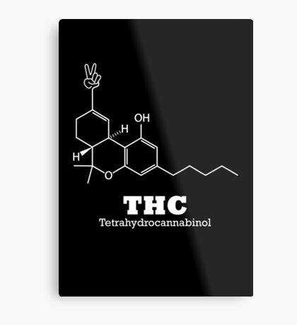 The Happy Chemical Metal Print