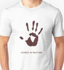 Dark Brotherhood: Silence, my brother Slim Fit T-Shirt