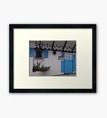 My home - Me casa Framed Print