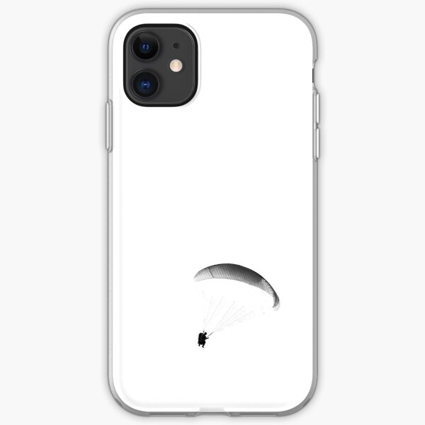 Paraglider Gray iPhone Soft Case