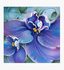 """""""The Violet"""" Photographic Print"""